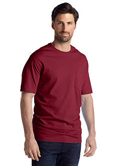 Saddlebred® Short Sleeve Pocket Tee