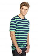 Saddlebred® Short Sleeve Rugby Striped Tee