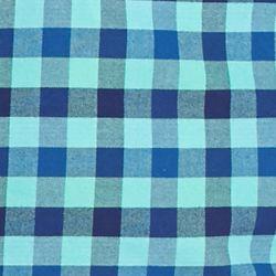 Trends: Plaid: Blue/Green Saddlebred 1888 Tailored Gingham Oxford Shirt