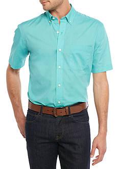 Saddlebred Short Sleeve Wrinkle Free Solid Shirt
