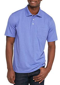 Saddlebred Short Sleeve Solid Jersey Polo