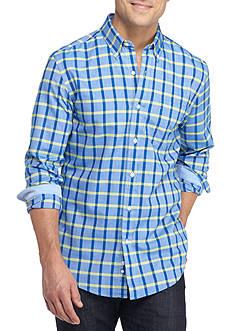 Saddlebred Long Sleeve Single Pocket Oxford Shirt
