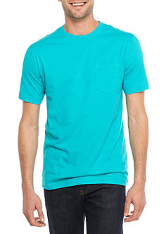 Saddlebred® Short Sleeve Pocket Tee Fashion