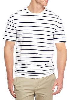 Saddlebred Short Sleeve Skinny Stripe Tee Shirt
