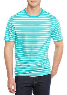 Saddlebred Short Sleeve Jersey Stripe Tee Shirt