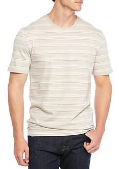 Saddlebred Short Sleeve Multi Stripe Tee Shirt