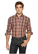 Saddlebred® Plaid Woven Shirt