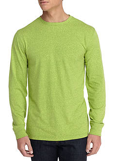 Saddlebred® Long Sleeve Crew Neck Heather Shirt
