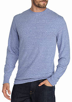Saddlebred Long Sleeve Crew Neck Heather Shirt