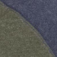 Men: Gifts Under $25 Sale: Olive/Navy Saddlebred Long Sleeve Raglan Henley Top