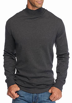 Saddlebred® Long Sleeve Mock Neck Shirt