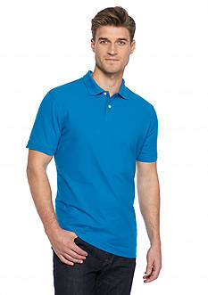 Saddlebred® 1888 Tailored Fashion Solid Polo Shirt