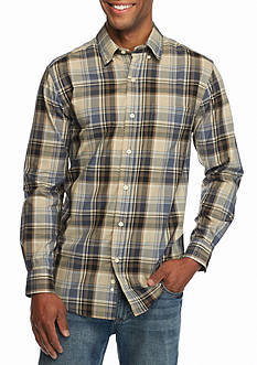 Saddlebred® Long Sleeve Medium Plaid Wrinkle Free Shirt