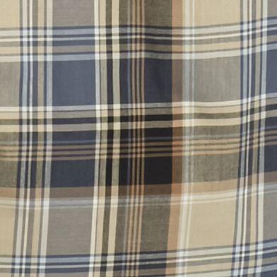 Men: Saddlebred Casual Shirts: Black/Khaki Saddlebred Long Sleeve Medium Plaid Wrinkle Free Shirt