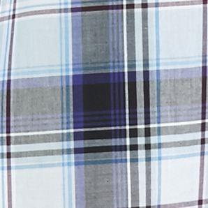 Men: Saddlebred Casual Shirts: Black/Blue Saddlebred Long Sleeve Medium Plaid Wrinkle Free Shirt