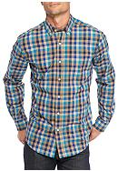 Saddlebred® Long Sleeve Gingham Wrinkle Free
