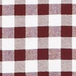 Saddlebred Men: Brahma/White Saddlebred Long Sleeve Gingham Plaid Oxford Shirt