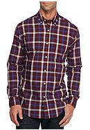 Saddlebred® Long Sleeve Wrinkle Free Plaid