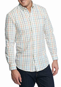 Saddlebred Long Sleeve Easy Care Woven Shirt