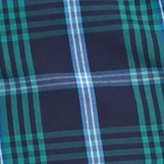Men: Check & Plaid Sale: Navy/Green Saddlebred Long Sleeve Easy Care Woven Shirt