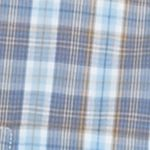 Orange Mens Long Sleeve Woven Shirts: Light Blue Saddlebred Long Sleeve Easy Care Woven Shirt