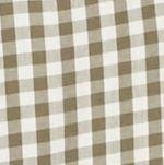 Men: Saddlebred Casual Shirts: Olive/Khaki Saddlebred Long Sleeve Small Gingham Easy Care Shirt