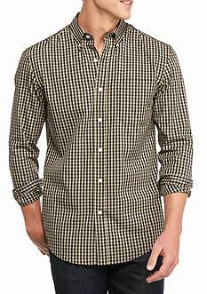 Saddlebred Long Sleeve Small Gingham Easy Care Shirt