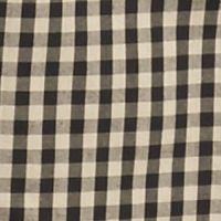 Men: Saddlebred Casual Shirts: Khaki/Black Saddlebred Long Sleeve Small Gingham Easy Care Shirt
