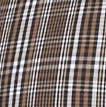 Men: Saddlebred Casual Shirts: Black/Brown Saddlebred Long Sleeve Glen Plaid Easy Care Shirt