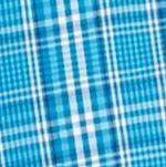 Men: Saddlebred Casual Shirts: Teal/Blue Saddlebred Long Sleeve Glen Plaid Easy Care Shirt