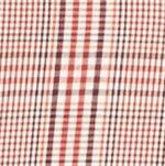 Men: Saddlebred Casual Shirts: Orange/Red Saddlebred Long Sleeve Glen Plaid Easy Care Shirt