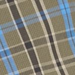 Men: Check & Plaid Sale: Olive/Black/Blue Saddlebred Long Sleeve Small Plaid Easy Care Shirt