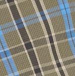 Men: Saddlebred Casual Shirts: Olive/Black/Blue Saddlebred Long Sleeve Small Plaid Easy Care Shirt