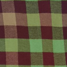 Men: Check & Plaid Sale: Green/Burgundy Saddlebred 1888 Long Sleeve Tailored Gingham Oxford Shirt