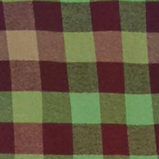 St Patricks Day Outfits For Men: Green/Burgundy Saddlebred 1888 Long Sleeve Tailored Gingham Oxford Shirt