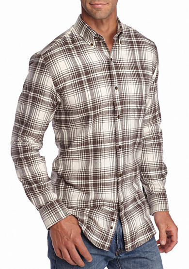 Saddlebred® Long Sleeve Flannel Shirt