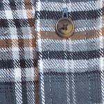 Men: Casual Shirts Sale: Gray Saddlebred Long Sleeve Flannel Shirt