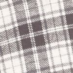 Men: Casual Shirts Sale: Gray/White Saddlebred Long Sleeve Flannel Shirt