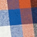 Men: Casual Shirts Sale: Orange/Blue Saddlebred Long Sleeve Flannel Shirt
