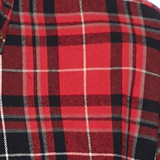 Men: Casual Shirts Sale: Red/Black/Green Saddlebred Long Sleeve Flannel Shirt