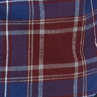 Men: Casual Shirts Sale: Burgundy/Blue/Green Saddlebred Long Sleeve Flannel Shirt