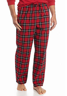 Saddlebred® Plaid Woven Lounge Pants