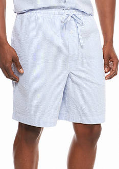 Saddlebred® Seersucker Lounge Shorts