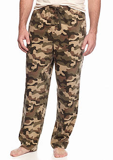 Saddlebred® Camo Microfleece Lounge Pants