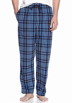 Saddlebred® Plaid Fleece Lounge Pants