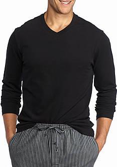 Saddlebred Long Sleeve V-Neck Lounge Shirt