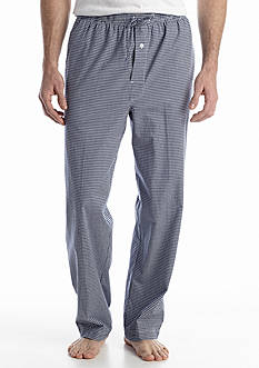 Saddlebred Gingham Woven Lounge Pants