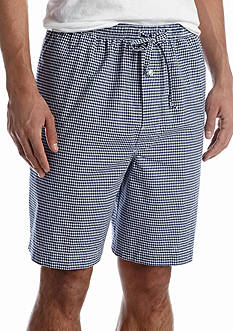 Saddlebred Gingham Woven Lounge Shorts