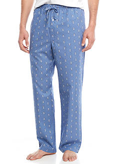 Saddlebred Anchor Print Sleep Pants