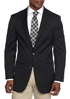 Saddlebred® Big & Tall Classic Fit Motion-Stretch Performance Traveler Blazer